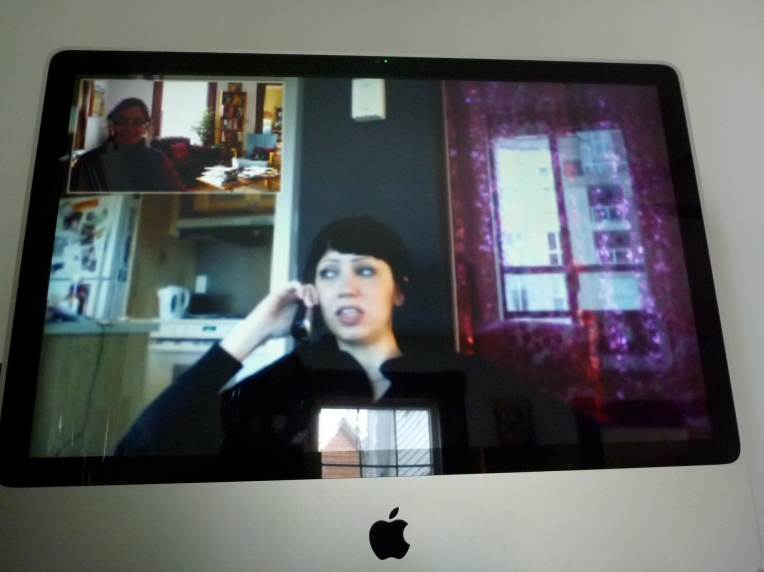 Skyping from Vancouver.