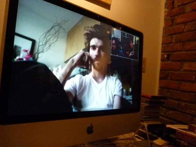 Skyping with Jesse