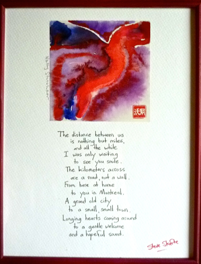 Poem and Painting about Emily leaving by Scarfe and Shischkov.