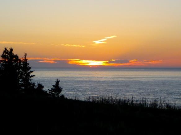 Sunset at Point Prim.