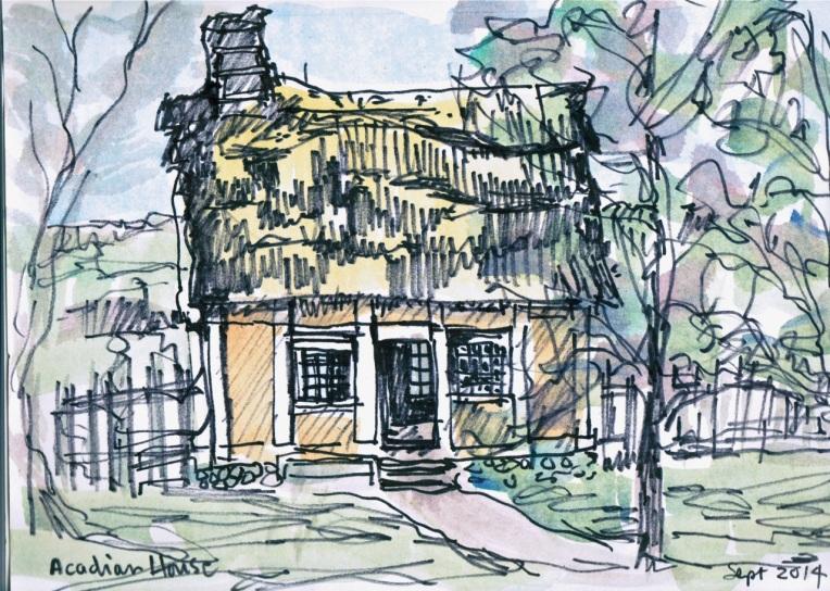 Acadian House © Flora Doehler, 2014