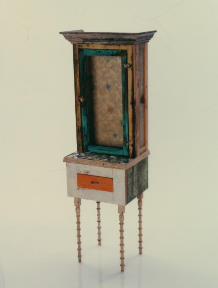 Found Object Cabinet ©Craig Dorsey