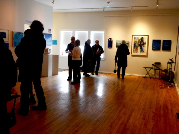 """Winter Blues"" at ArtsPlace"