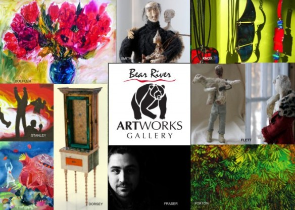 Bear River Artworks Opening