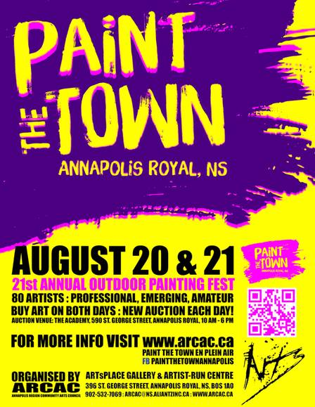 paint the town poster
