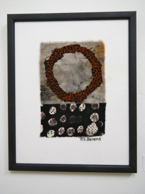 Fibre art by Penny Berens